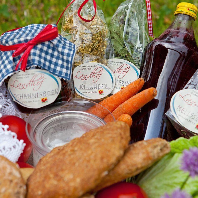 Produkte vom Bauernhof